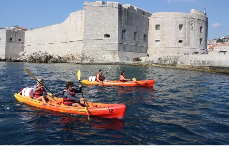 kayak tours dubrovnik